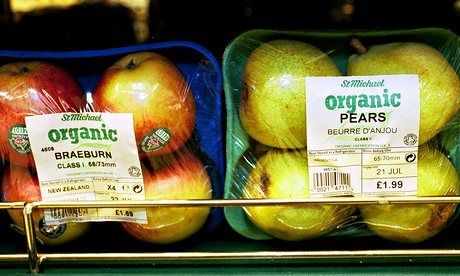 Research is first to find wide-ranging differences between organic and conventional fruits, vegetables and cereals