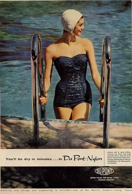 more lovely fifties fashion ( minus the rubber cap)