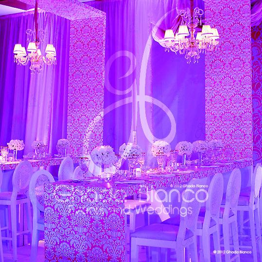 Wedding Design Ideas - Weddings 'R' Us By Ghada Blanco http://www.myfarah.com/vendors/wedding-planning/lebanon/weddings-r-us