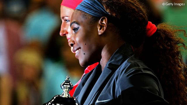 17X SLAM Champion Serena Williams earned $9,077,322 in Prize Money for 2013. shattering Vika Azarenka's single season record from 2012 ($7,923,920) - & there are still 2 mos left in the season; only 3 male players have even surpassed $9 million in single season prize money (Roger Federer, Rafa Nadal & Novak Djokovic 2X). 9/9/13  #Golden #TEAMSERENA  Serena passes $50 Million Dollars in career prize money earnings now (Venus is next with $28,828,060). #TEAMWILLIAMS