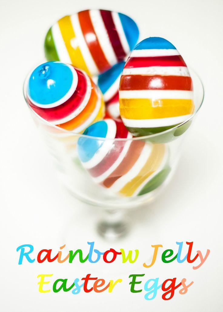 My Rainbow Jelly #Easter Eggs