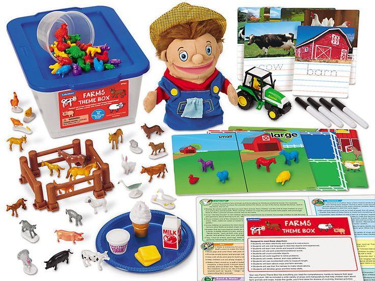 Farms Theme Box at Lakeshore Learning | Farm theme ...