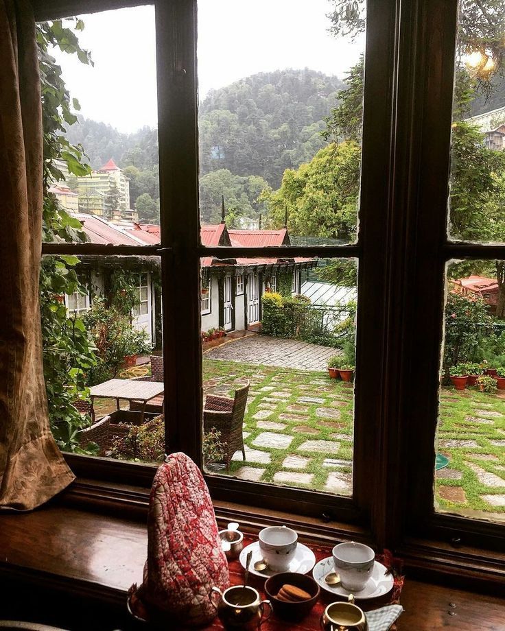 A room with a view , Shimla , India.