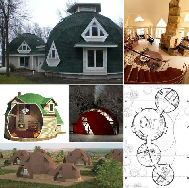 Dome S On Pinterest Green Roofs Shelters And Dome Homes
