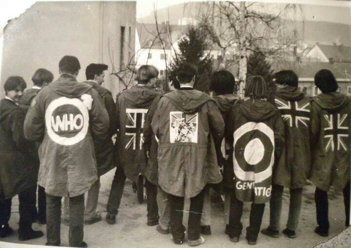 Mods and their parkas.