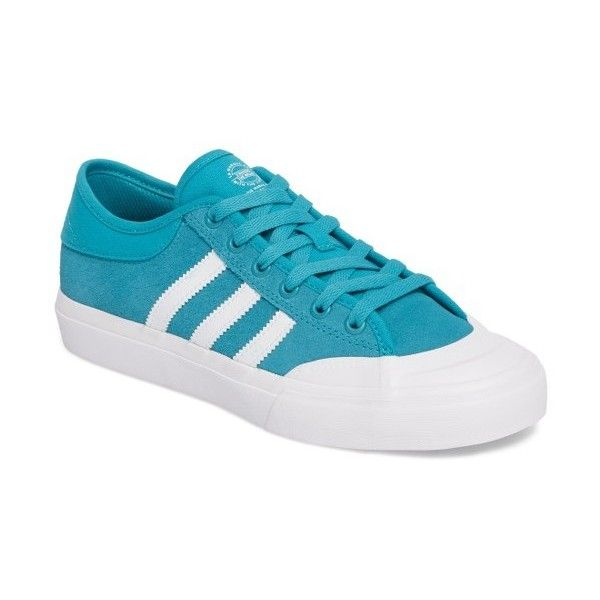 Women's Adidas Matchcourt Mid High Sneaker (230 BRL) ❤ liked on Polyvore featuring shoes, sneakers, rubber sole shoes, adidas shoes, low cut sneakers, tennis trainer and rubber shoes