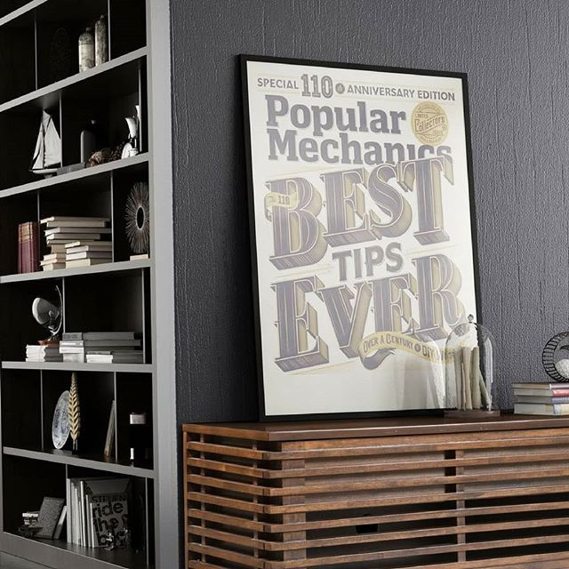 There is more than one way to showcase posters, art and your favourite things.  Check out our Instagram profile to see the full picture. #homedecor