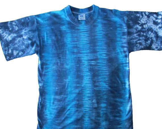 Size L Tie Dyed Mens T Shirt 100% Cotton Australian Made