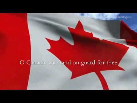 Canadian National Anthem O Canada in HQ - complete with lyrics, captions, music. LYRICS: O Canada! Our home and native land! True patriot love in all thy son...