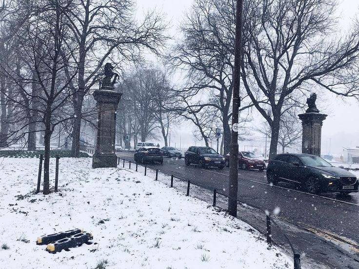 Snow day in Edinburgh