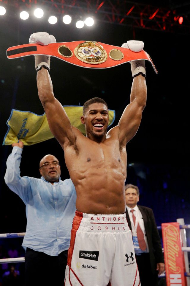 The Champs Party: Anthony Joshuas Family Plans Party For New World Champion