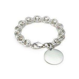 Tiffany Outlet Ablaze Disk Drop Toggle Bracelet