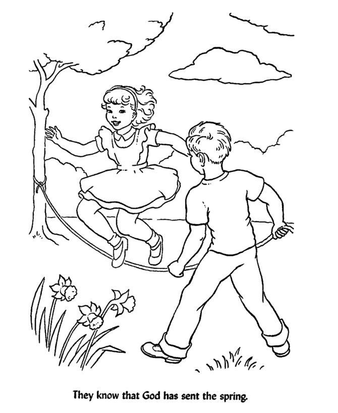 Free Sunday School Bible Coloring Pages