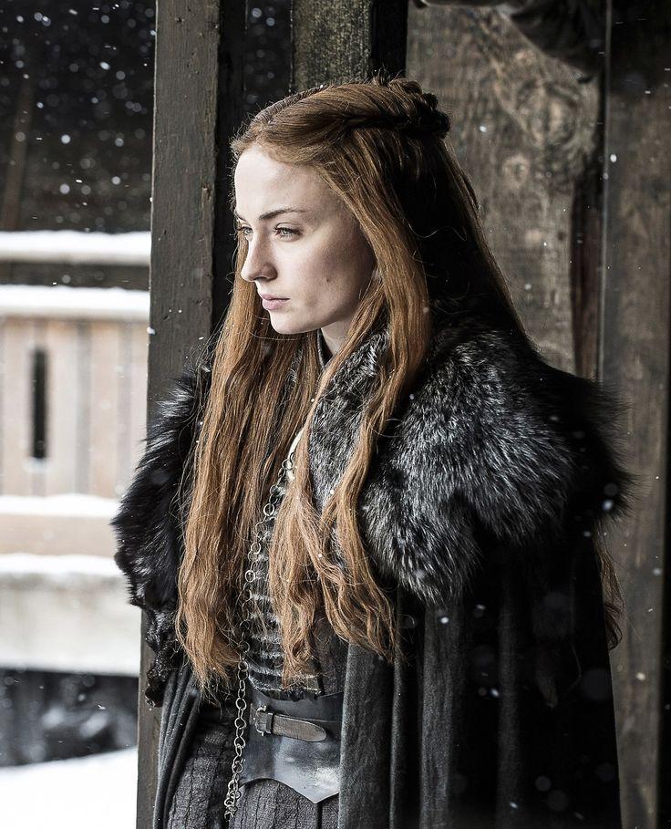 Sophie Turner - Sansa Stark in episode 7x02 (Stormborn) of Game of Thrones