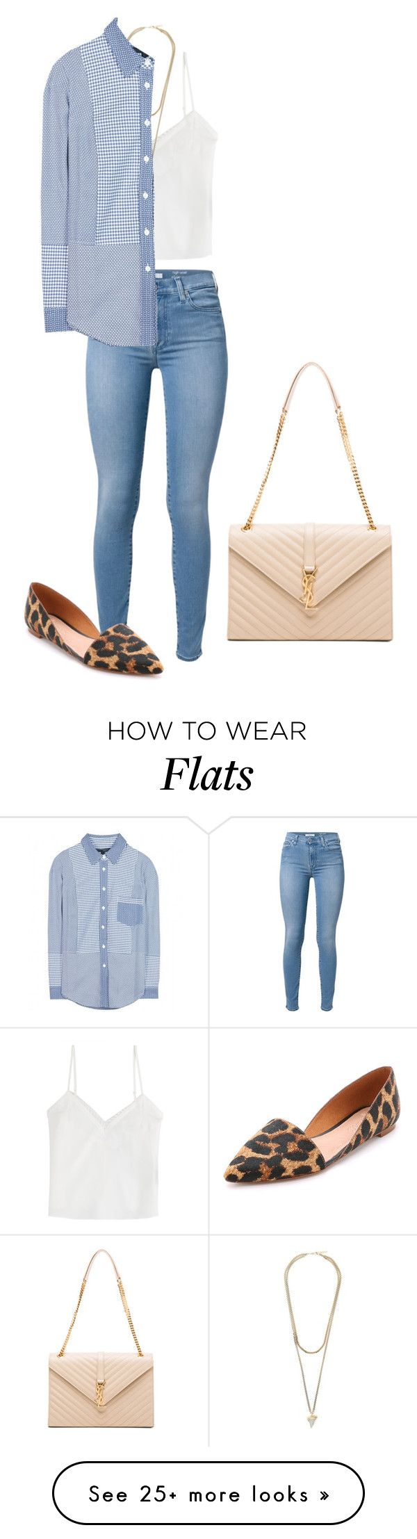 """""""480"""" by m-e-rod on Polyvore featuring The Kooples, 7 For All Mankind, Givenchy, dVb Victoria Beckham, Madewell and Yves Saint Laurent"""