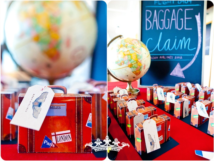Baggage Claim Party Favors