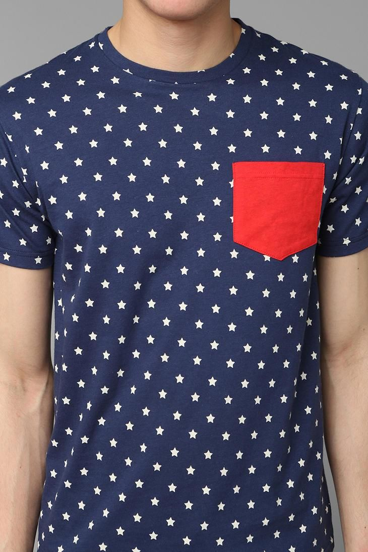 Altru Stars Pocket Tee via Urban Outfitters
