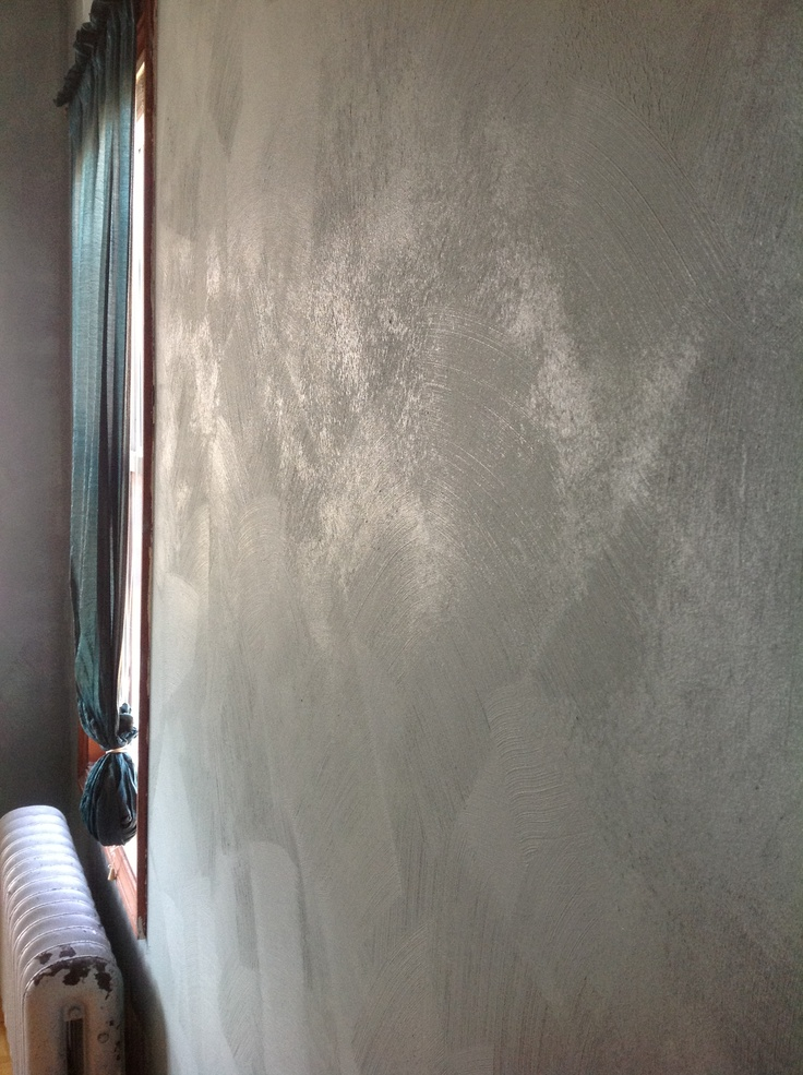 Our Walls Sherwin Williams Faux Impressions Brushed
