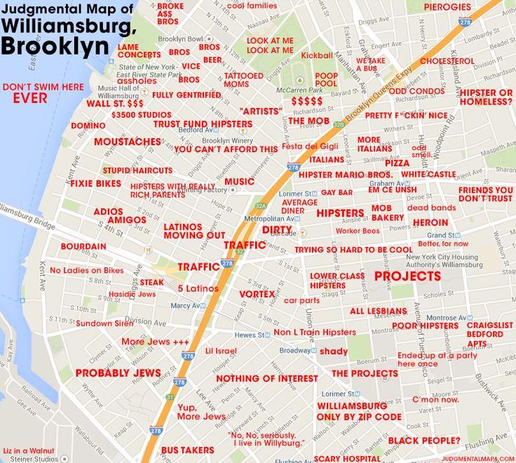 10 Best Images About Judgmental Maps On Pinterest  Las