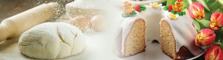 Lemon Yogurt Easter Bundt Cake