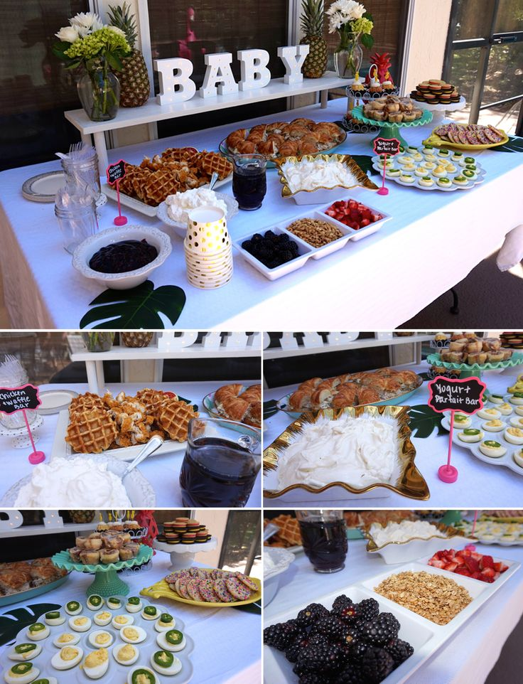 Tropical Pineapple Baby Shower | Brunch Shower | Party