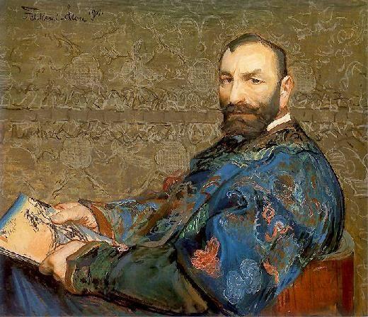Leon Wyczółkowski - Portrait of Feliks Jasieński.
