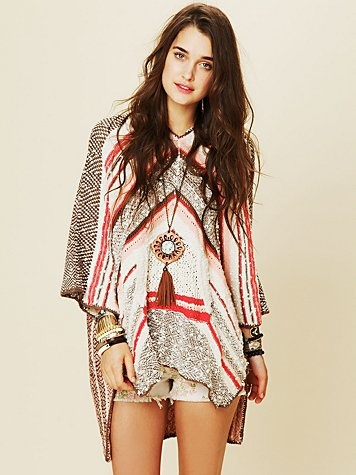 Rising Tides Hooded Poncho