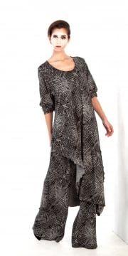 Yiannis Karitsiotis Print Long Dress