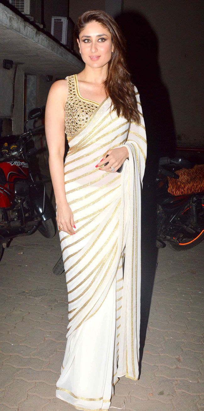 Kareena Kapoor snapped at Mehboob Studio. #Style #Bollywood #Fashion #Beauty