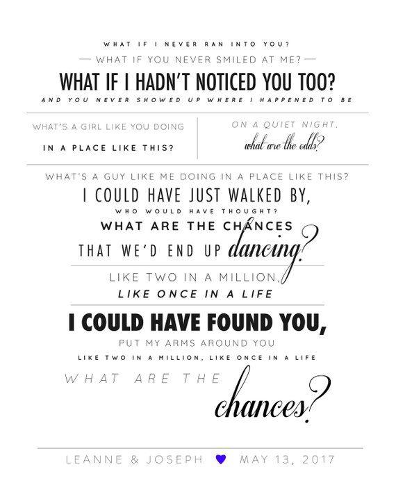 """Backstreet Boys """"Chances"""" Lyrics"""