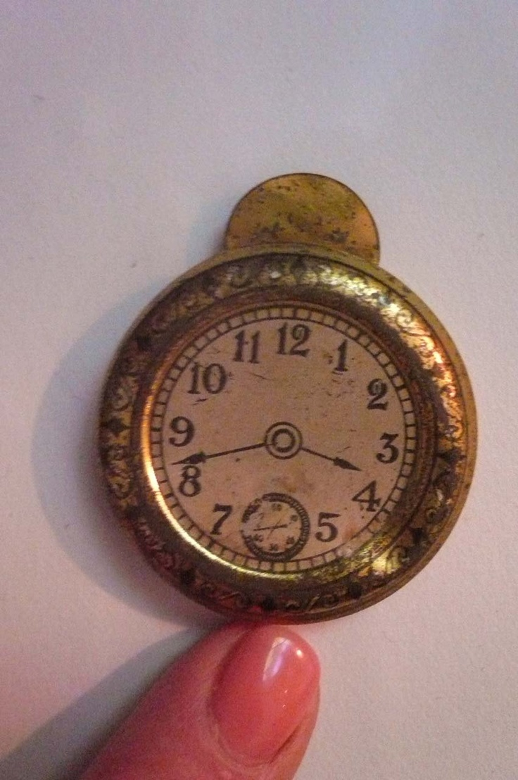 Vintage wooden music stand book stand by vintagearcheology on etsy - Antique Cracker Jack Tin Lithograph Pocket Watch Toy Charm