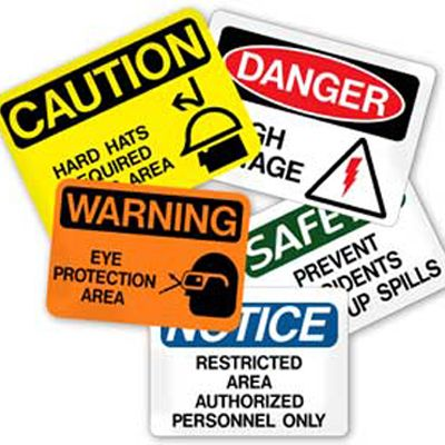 Best Health And Safety Signs Images On   Safety