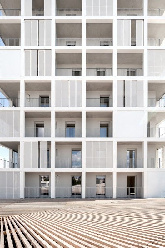 30 Social Housing Units in Nantes,© Alexandre Wasilewski