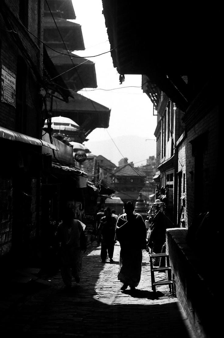 Khokana Village - Nepal .. Shot with Asahi Pentax 1976 on ILFORD PAN 100