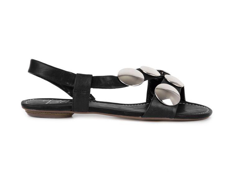 Blink Nazouvací sandály 800760-P-1 / černá