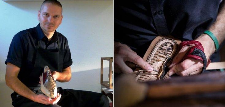 Marek Pažitný ako jediný na Slovensku vyrába ručne šité topánky s doživotnou zárukou | interez.sk