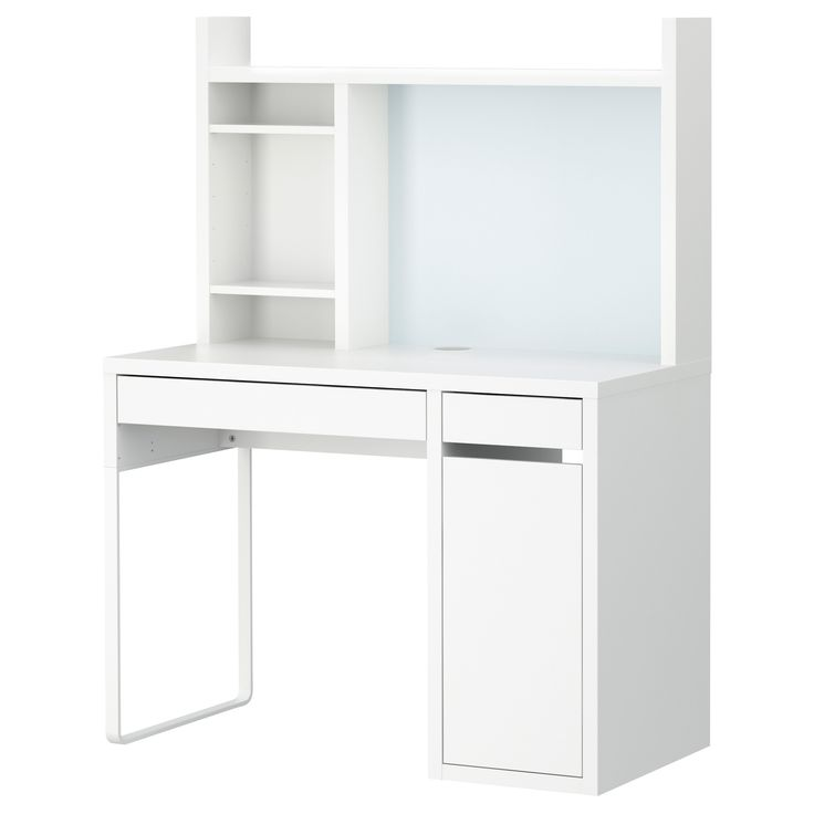 MICKE Computer work station - white - IKEA
