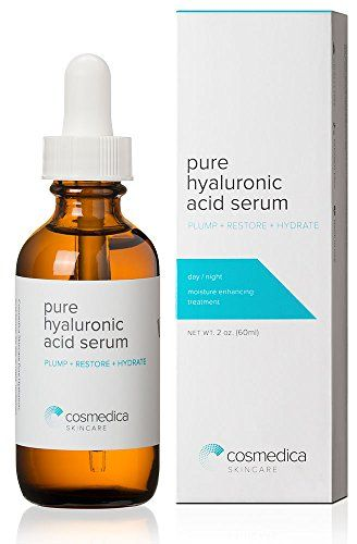 Best-Selling Hyaluronic Acid Serum for Skin-- 100% Pure-Highest Quality, Anti-Aging Serum-- Intense Hydration + Moisture, Non-greasy, Paraben-free, Vegan--Best Hyaluronic Acid for Your Face (Pro Formula) 100% Satisfaction Guarantee Cosmedica Skincare