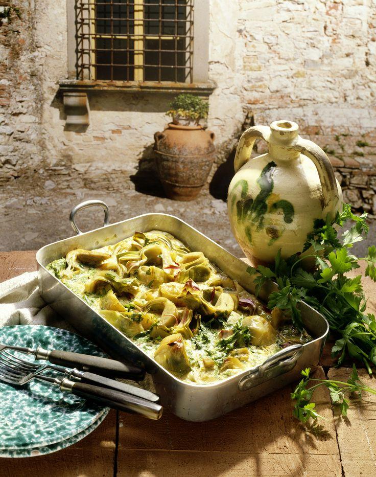 Artischocken aus dem Ofen - smarter - Kalorien: 294 Kcal - Zeit: 1 Std. 15 Min. | eatsmarter.de