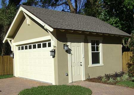 Plan 44080td craftsman style detached garage plan for Small craftsman house plans with garage
