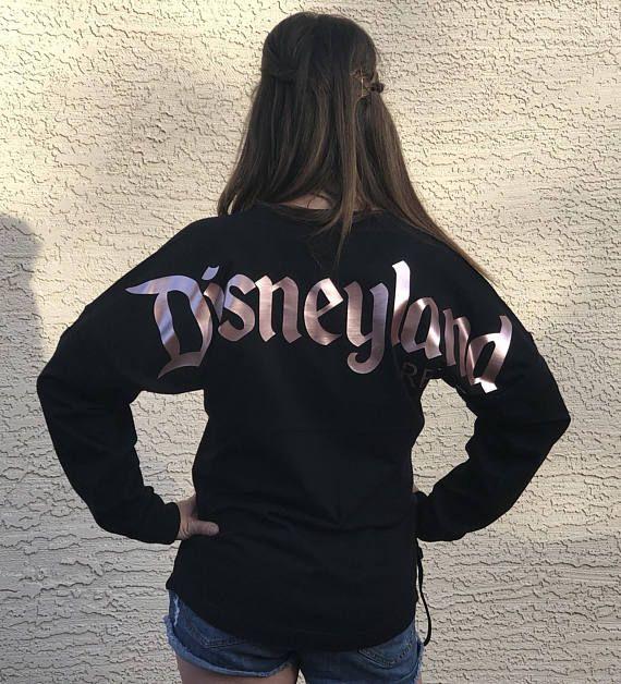 Rose Gold Disneyland Jersey Disney Spirit Shirt Disneyland Disney