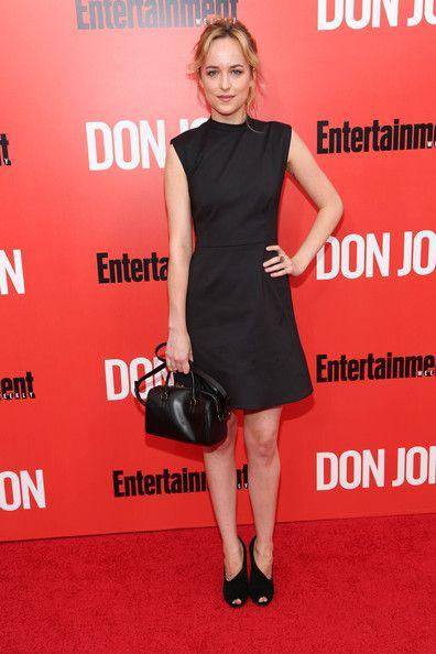Dakota Johnson attends the 'Don Jon' New York premiere at SVA Theater on September 12, 2013 in New York City.