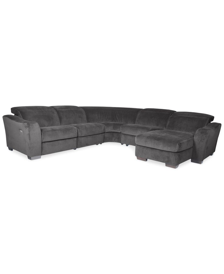 Best Alessandro Fabric 5 Piece Chaise Sectional Sofa With 1 400 x 300