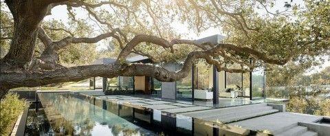 Villa in Beverly Hills met zwembad op het dak