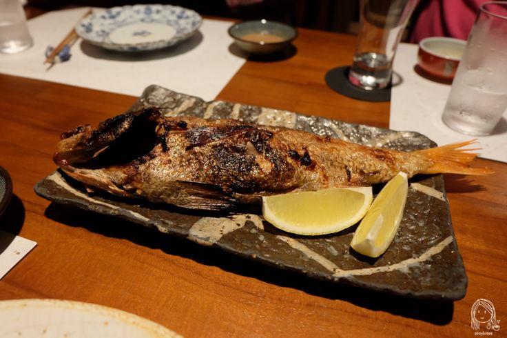 Nagahori - Michelin 1 star Izakaya in Osaka - Grilled Nodoguro