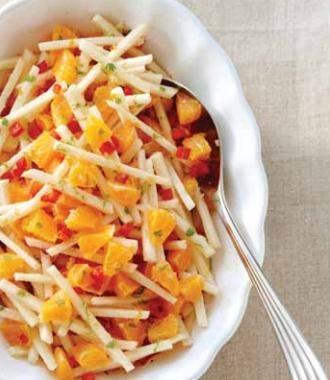 Clementine and jicama salad