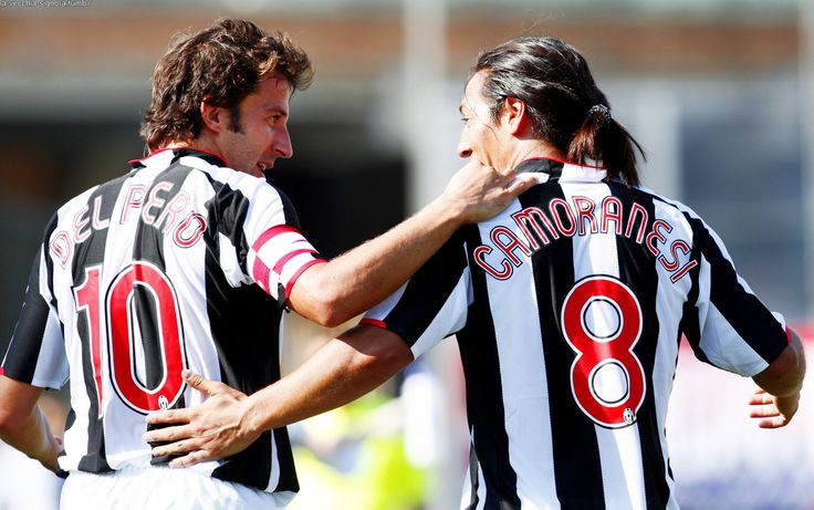Juventus Legends - Alessandro Del Piero and Mauro Camoranesi