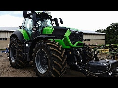 Deutz-Fahr 9340 TTV en Krone ZX470 AGRIbumper met Deutz Fahr ready for  action toer