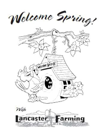 Welcome spring coloring pictures kids coloring pages for Welcome spring coloring pages