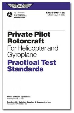 Private Pilot Rotorcraft (Helicopter and Gyroplane) - Practical Test Standards (PTS)